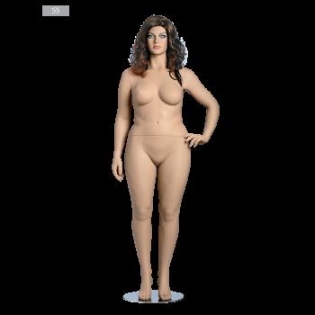 Ρεαλιστική Κούκλα Βιτρίνας κωδ. 55