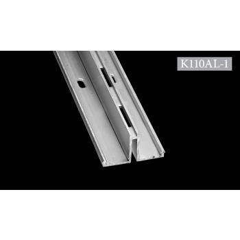 Ράγα Αλουμινίου 110 κωδ. K110AL-1