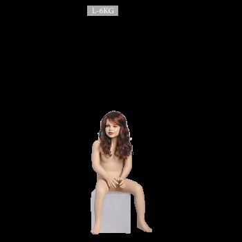 Παιδική Ρεαλιστική Κούκλα Βιτρίνας κωδ. L-6KG