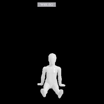 Παιδική Αφαιρετική Κούκλα Βιτρίνας κωδ. W4K-EG