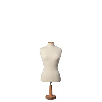 Bust Form with Round Short Base