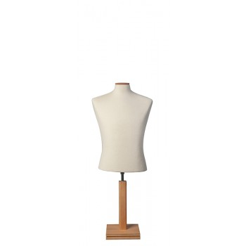 Bust Form with Short Square Base